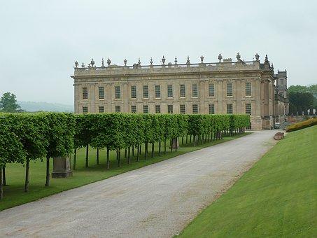 Chatsworth, House, England, Home, Grounds, English