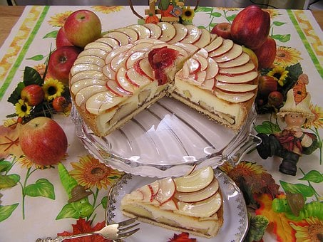 Apple Pie, Food, Cake, Coffee, Apple, Bake