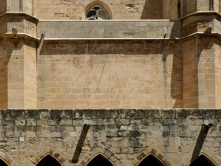 Sundial, Cathedral, Tortosa, Gothic