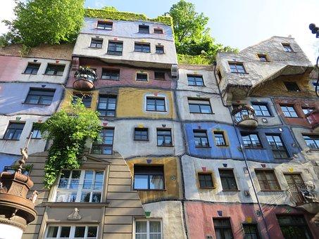 Hundertwasser, Hundertwasser House, Vienna, Austria