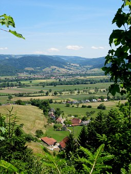 Black Forest, Landscape, Haley Mountain, View, Germany