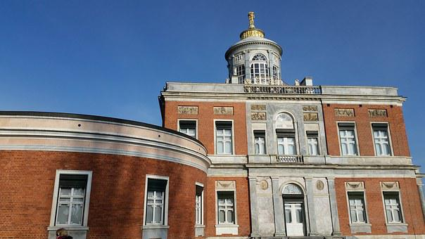 Potsdam, Marble Palace, Holy Lake, Sky