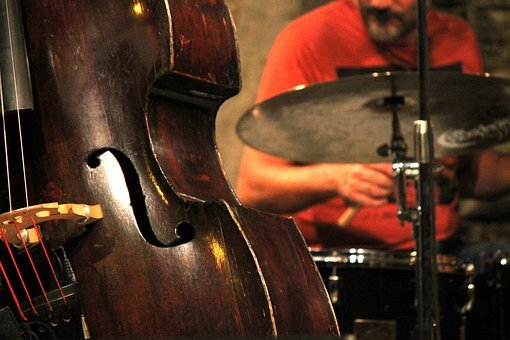 Jazz, Double Bass, Music, Concert, Musical Instrument