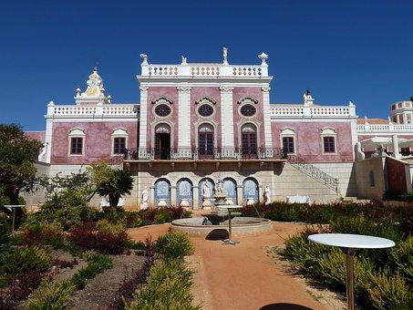 Estoi, Faro, Portugal, Stonework, Architecture