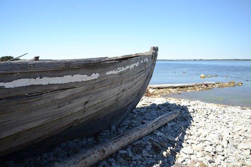 Echo, Sea, Fishing, Lake, Sweden, Water, Boat, Nature