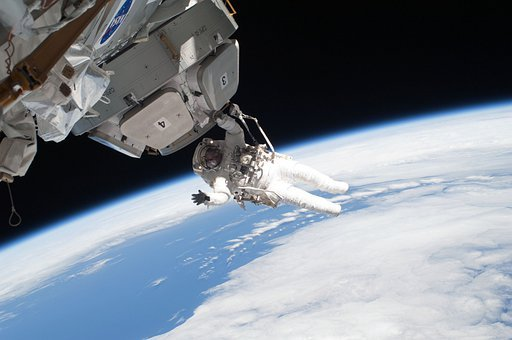 Astronaut, International Space Station, Space Walk, Iss