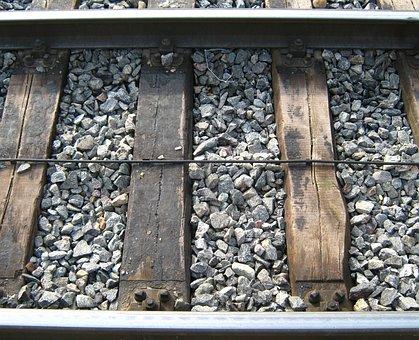 Rails, Stones, Section, Bohlen, Cable, Railway