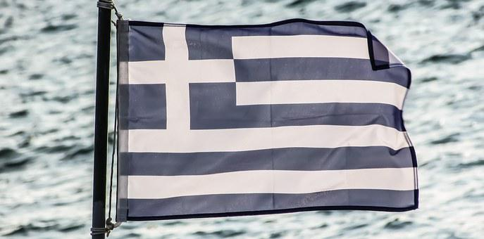 Greece, Flag, Symbol, Nation, Country, Greek