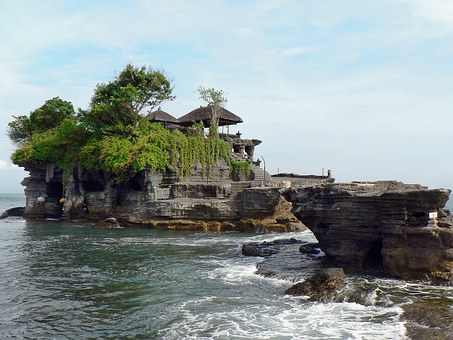 Indonesia, Bali, Temple, Tanah Lot, Religion, Island
