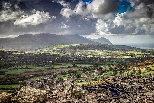 Yr Eifl, The Rivals, Landscape, Wales, Scenery