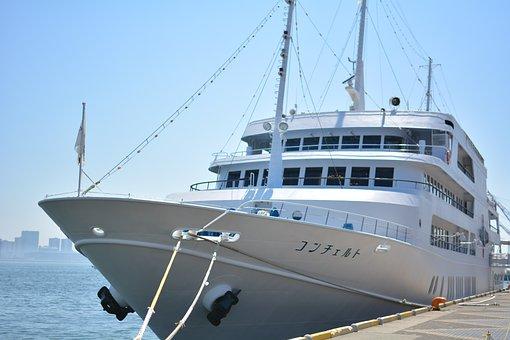 Ship, Tourist Boats, Cruiser, Kobe, Concerto, Tourism