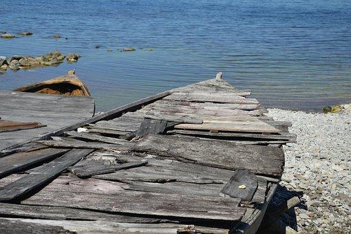 Echo, Sea, Fishing, Lake, Water, Boat, Nature, Fårö