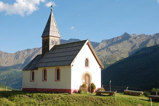 Church, Chapel, Christian, Mountains, Alpine
