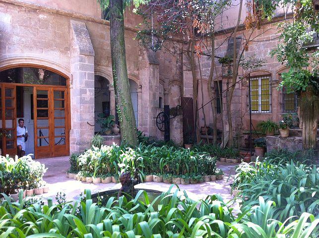 Mallorca, Village, Gardens, Architecture, Building
