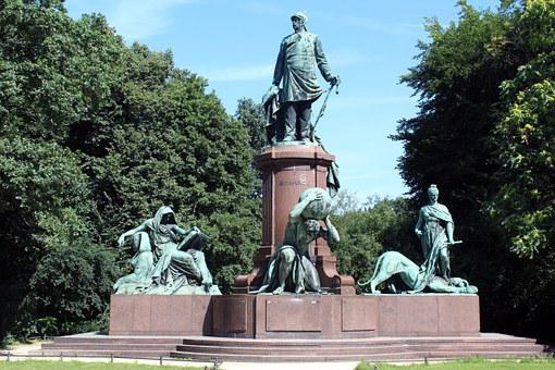Bismarck, National Monument, Big Star, Berlin, 1901
