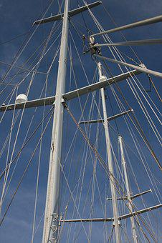 Masts, De Eendracht, Blue, Air