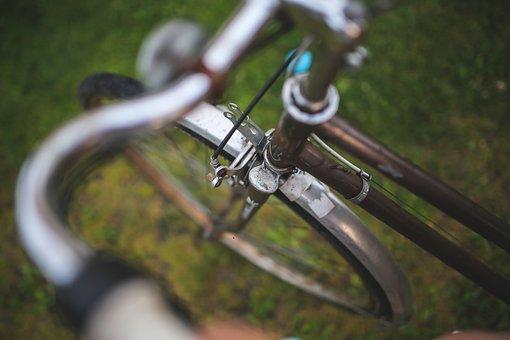 Bike, Bicycle, Wheel, Brakes, Stylish, Grass