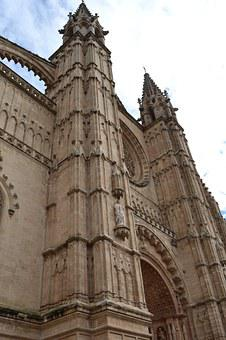 Cathedral, Palma De Mallorca, Church, Mallorca, Palma