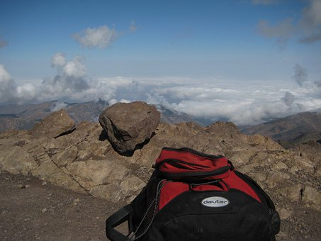 Backpack, Mountains, Deuter, Atlas Mountains, Morocco