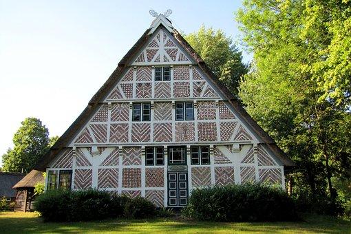 Home, Fachwerkhaus, Farmhouse, Old Country