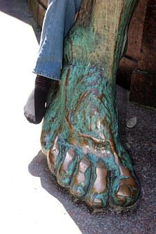 Siegfried, Foot, Bismarck National Monument, Big Star