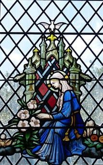 Window, Church Window, Church, Glass, Color