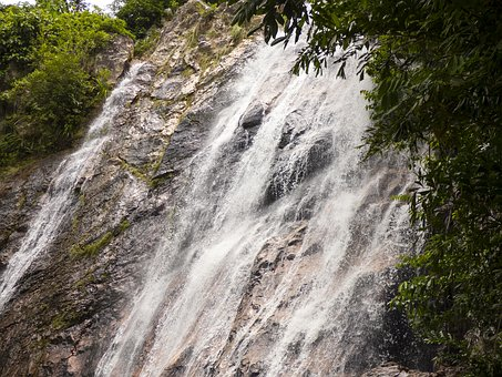 Waterfall, Schladming, Holiday, Water, Nature