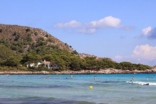 Mallorca, Beach, Spain, Mediterranean, Balearic