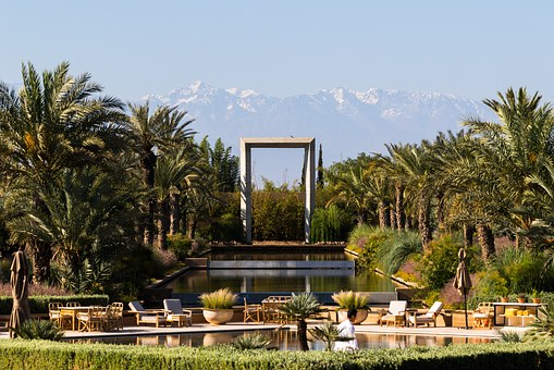 Atlas, Mountains, Mandarin Oriental, Marrakech, Park