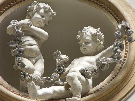 Prince Of Naples Gallery, Plaster Work, Children