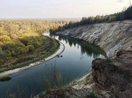 River, Breakage, Höper, The River Don, Russia