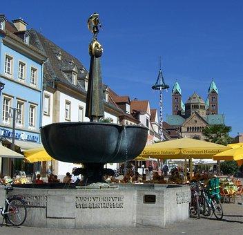 Speyer, George Wells, Soldier Fountain, War Memorial