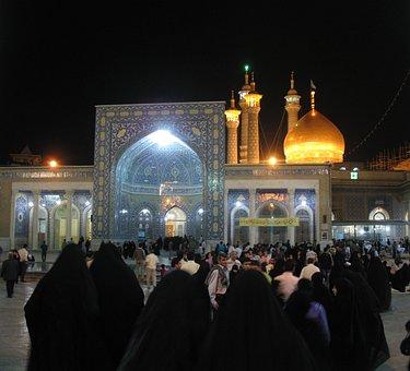 Ghom, Muslims, Shrine, Pilgrimage, Spiritual, People