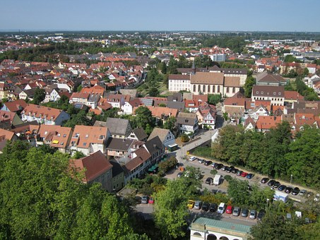 Speyer, Cathedral, View, St Magdalena, Panorama, City