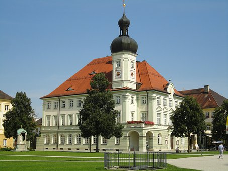 Altötting, Town Hall, Place Of Pilgrimage