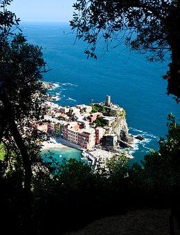 Cinque Terra, Ocean, Cinque, Italian, Terra, Ancient