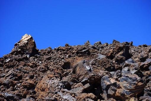 Lava, Lava Rock, Lava Fields, Boulders, Distinctive