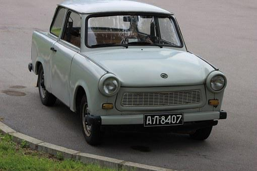 Trabant, Car, Vehicle