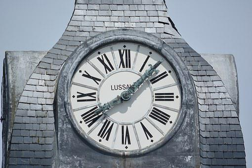 Time, Belfry Clock, City, Clock, Architecture, Points