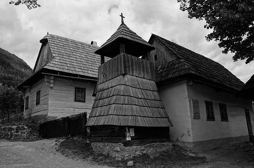 Cottage, Skanzen, Belfry