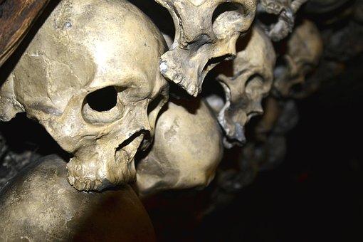Skeletal, Skull, Creepy