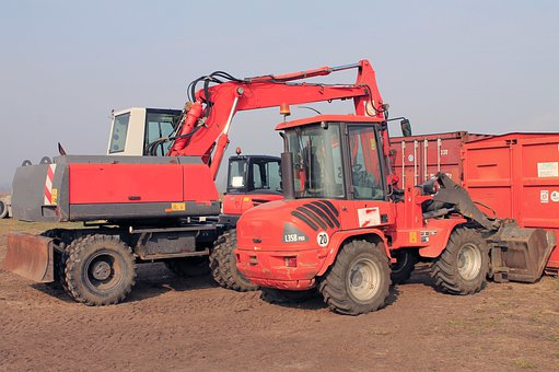 Excavators, Construction Abbruchzange, Backhoe Bucket