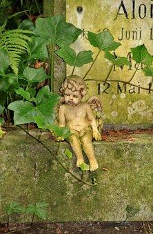 Angel, Little Angel, Fig, Sculpture, Wing, Cute, Sit