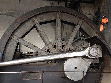 Machine, Steam Engine, Carrier, Bill, Mining, Mine