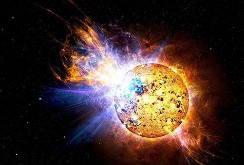 Solar Flare, Flare, Explosion, Ev Lacertae, Nasa, Sun