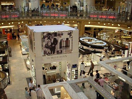 Magasin De Lafayette, Detail, Shopping, Brands, People