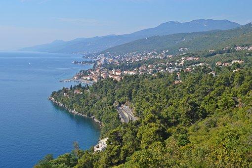 Sea, Blue, Wave, Water, Croatia, Adriatic Sea, Rocky
