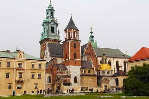 Royal, Cathedral, Wawel Royal Castle, Gothic, Castle