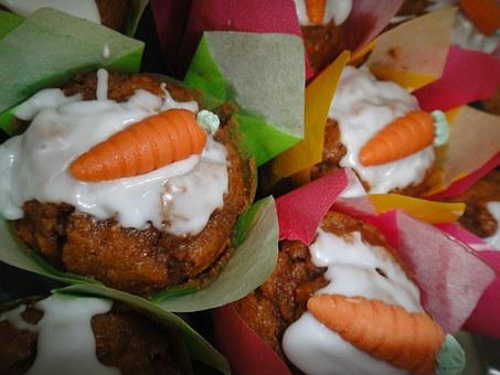 Rueblimuffins, Spring Pastries, Calory Reduced