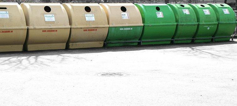 Glass, Garbage, Glass Waste, Disposal, Separation